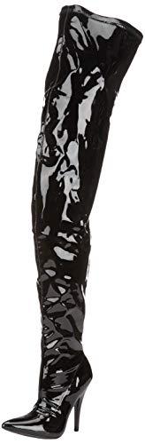 Erogance Lack High Heels Crotch Overknee Stiefel A3623L / EU 40