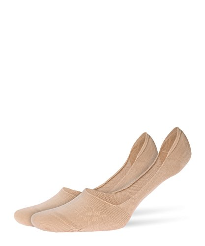 Burlington Damen Everyday Sneakersocken, Beige (sand 4320), Einheitsgröße (DE 36-41)