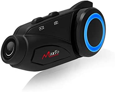 Motorcycle Bluetooth Headset Group WiFi Recorder Maxto M3 Can be Connected to Other Helmet intercom product image