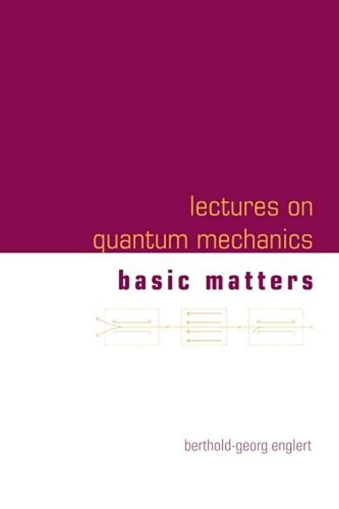 パイプ葉排泄物Lectures on Quantum Mechanics: Basic Matters