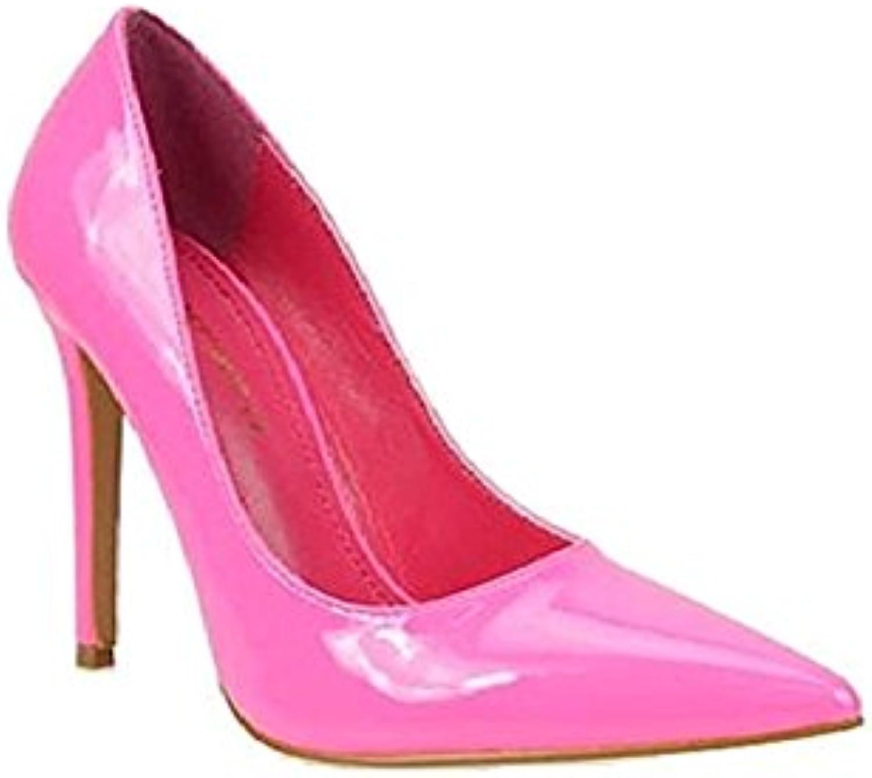 shoes Republic LA Paltrow Pointy Toe Pumps Heels shoes - Hot Pink - Size 8