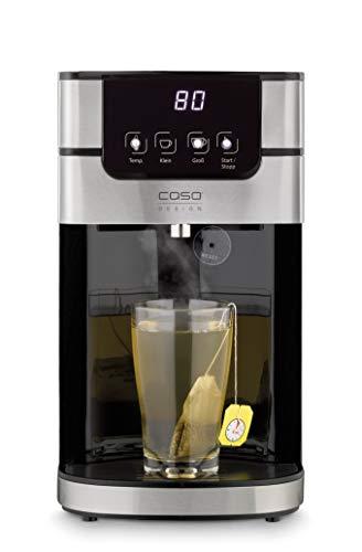 CASO PerfectCup 1000 Pro – Turbo Heißwasserspender, heißes Wasser in wenigen Sekunden, 2600 W, abnehmbarer 4 Liter Wassertank, von 70-100°C einstellbar, ideal für Büroküchen, Buffets und Catering