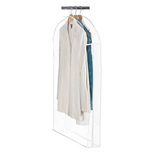 Clear Vinyl Storage Suit Garment Cover: 40' H x 24' W x 5'