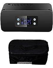 Estuche Viaje Enfriador Insulina, Estuche Portátil Médico Más Fresco, Refrigerador de Medicina Gran Capacidad y Pantalla LCD, para Insulina y Otros Medicamentos