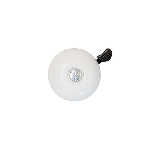 Firmstrong Classic Beach Cruiser Bicycle Bell, White