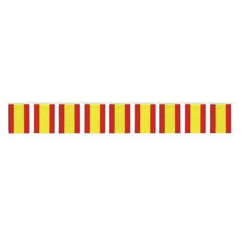 GUIRMA Bolsa 50 Metros de Banderas España plastico