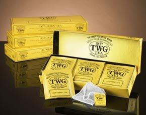 シンガポールの高級紅茶 TWGシリーズ 並行輸入品 (Alfonso Tea(アルフォンソティー1箱*ティーパック))