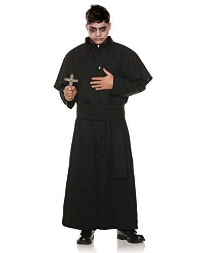 Horror-Shop Disfraz De Sacerdote De Exorcismo XXL