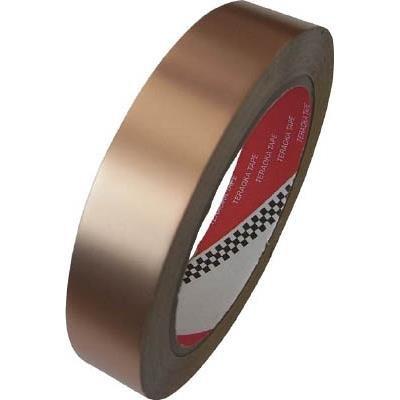 『寺岡製作所:TERAOKA 銅箔粘着テープNO.831S 10mmX20M 831S 10X20 型式:831S 10X20』のトップ画像