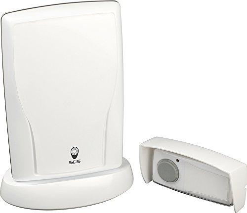 Funk-Türklingel - Bell - Bell-Wireless-Portal Exterior - Taste auf der Außenseite Glocke - Glocke Funkgong UEL-200 - CSF0016 SCS Sentinel