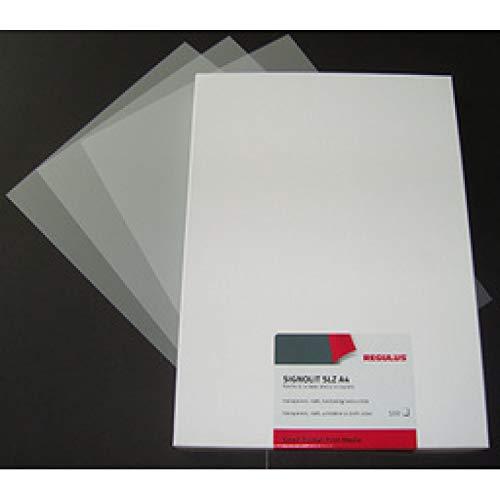 REGULUS SLZ A4 Laserdrucker-Folie SIGNOLIT SLZ, matt, DIN A4