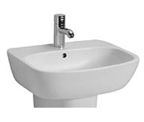 Ceravid Cavea Waschbecken Breite 50cm weiß Alpin, ohne Armatur, C48055000