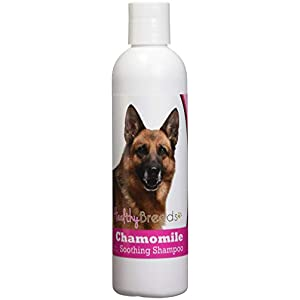 Healthy Breeds Chamomile Dog Shampoo & Conditioner with Oatmeal & Aloe for German Shepherd, Brown – OVER 200 BREEDS – 8 oz – Gentle for Dry Itchy Skin – Safe with Flea and Tick Topicals