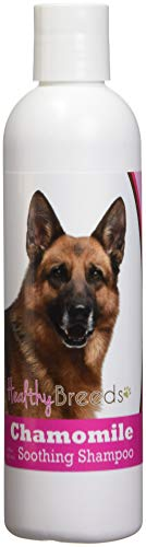 Healthy Breeds Chamomile Dog Shampoo & Conditioner with Oatmeal & Aloe for German Shepherd, Brown - OVER 200 BREEDS - 8 oz - Gentle for Dry Itchy Skin - Safe with Flea and Tick Topicals