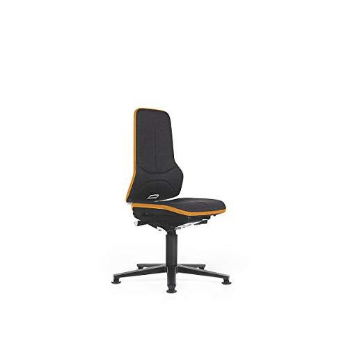 NEON Arbeitsdrehstuhl, Sitzausführung Stoff, ESD, Flexband orange - Bürostühle Bandscheibendrehstühle Drehstühle Universalstühle