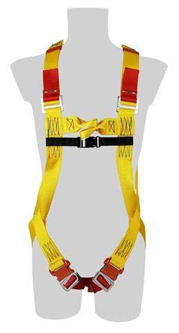 Sassi 450–Imbracatura di sicurezza 2punti di attacco, giallo, 453