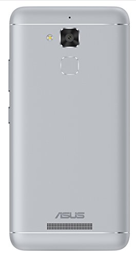 Asus ZenFone 3 Max (ZC520TL) Dual-SIM Smartphone (5,2 Zoll (13,2 cm) HD Touch-Display, 32GB Speicher, Android 6.0) silber