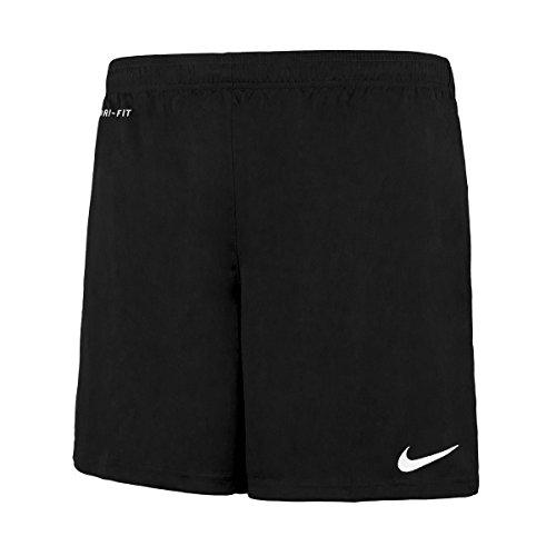Nike Herren Park II Knit Shorts ohne Innenslip, Schwarz (Schwarz/Weiß/010), Gr. L