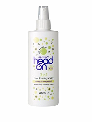 Anovia Head On 3 in 1 Haarspray gegen Läuse, 250 ml