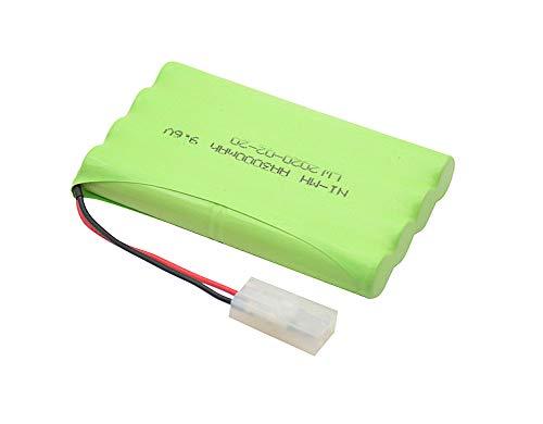 Outletdelocio.. Bateria 8 Elementos AA de NI-MH 9,6v 3000Mah con Conector estandar