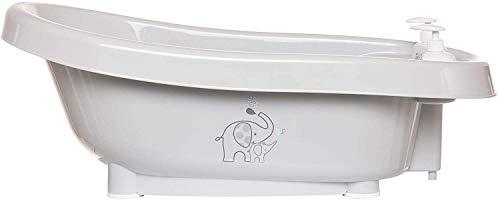 Bebe-jou Set Baño Thermobath + Soporte + Hamaca + Tubo Desagüe Modelo Elefante