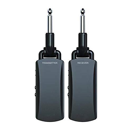 CBLD Professionell Wireless Guitar System-Wiederaufladbare Gitarre Wireless Audio Transmitter und Empfänger Set elektrisches Digital Guitar System Musikinstrumententeile