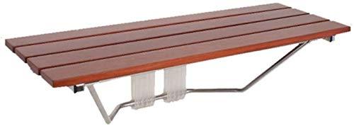 Douchestoel LHY- Badstoel Massief Hout Veiligheid Aisle Kruk Wandstoel Wandstoel Badkamer Kruk Vouwstoel Antislip