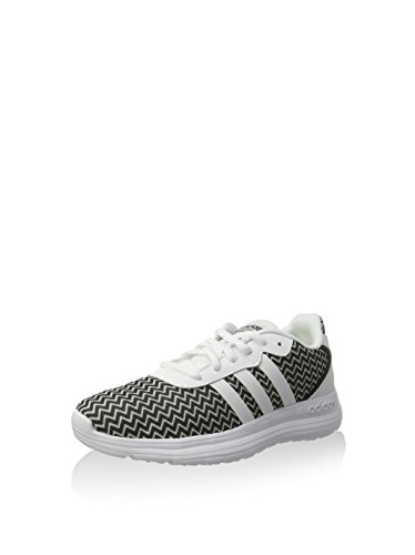 adidas Neo Cloudfoam Speed Womens Running Trainers/Shoes-White-3.5