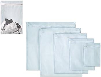 BaHoki Essentials 5-Piece Mesh Laundry Bags Set