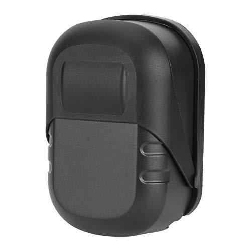 Caja de cerradura de llave, caja de cerradura de combinación portátil Caja de cerradura de llave de aleación de aluminio profesional Caja de almacenamiento de seguridad para llaves al aire(negro)