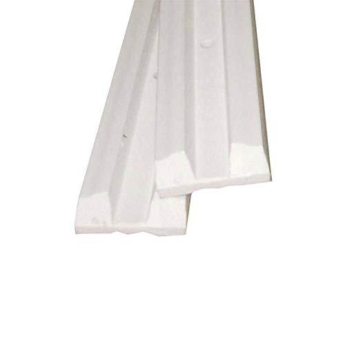Taco Marine P06-06W Trailer Glyde Slicks - 6-Piece, 2' x 1-1/2' x 7/16', White