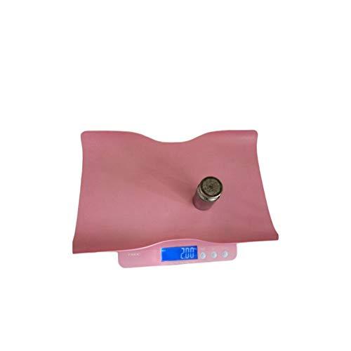 RuiJingKE Escalas Especiales De Hospital Nacido Bebé, Báscula De Precisión Electrónica Escalas De Salud, Dijo, con Una Gran Pantalla LCD De Pantalla, Rosa,Rosado