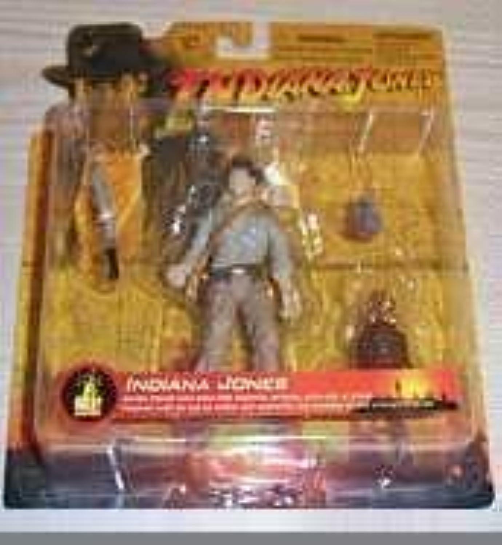 Indiana Jones with Idol 3 3 4 Figure by Indiana Jones