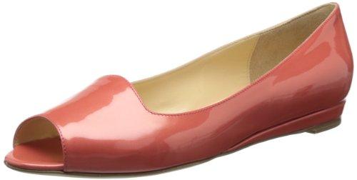 Aquatalia Women's Winnie Ballet Flat,Melon Patent,7 M US