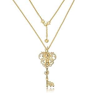 Goebel Couture Kingdom Rapunzel Halskette Schlüssel, Hals Kette, Anhänger, Schmuck, Gold, 12100641