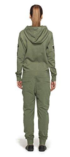 Onepiece Damen Jumpsuit Army, Grün (Military Green) - 2