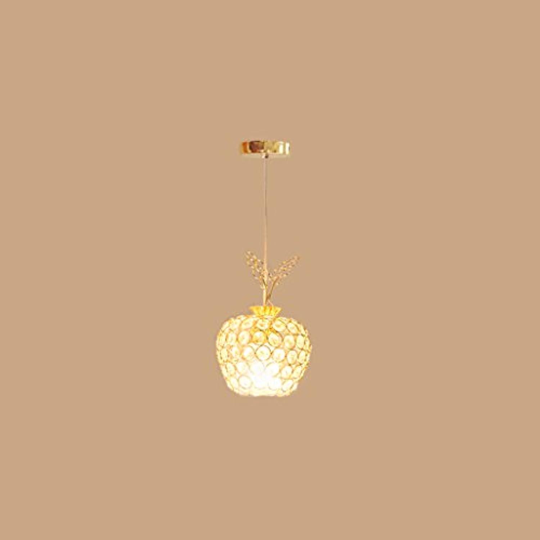 DSADDSD &Pendelleuchte Restaurant Kronleuchter Kristall Kronleuchter Kristall Kronleuchter einzigen Kopf DREI Kpfe Restaurant Wohnzimmer Gang (gre   A-Single Rounded)