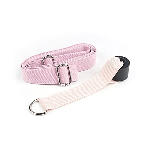 ROTAKUMA Flexibilidad Cintura Estirar Correa Yoga Fitness Estiramiento Pierna Transporte Transporte Tensión De Ballet Cuerda (Color : Pink)
