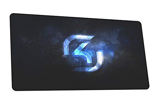 WZRYJDQS Alfombrillas De Ratón SK Gaming Mouse Pad Gamer Anime Mouse Mat Gel Pad Mouse Pc Escritorio Pad Mouse A 900X400Mm
