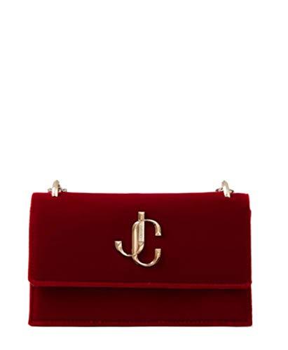 Jimmy Choo Luxury Fashion Donna BOHEMIAVELRED Rosso Borsa A Spalla   Autunno Inverno 19
