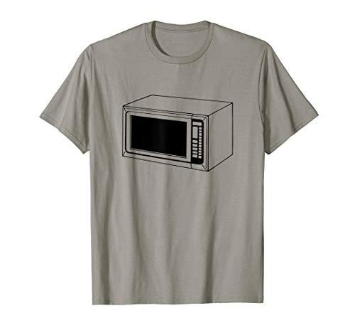 Microwave Oven Print T-Shirt