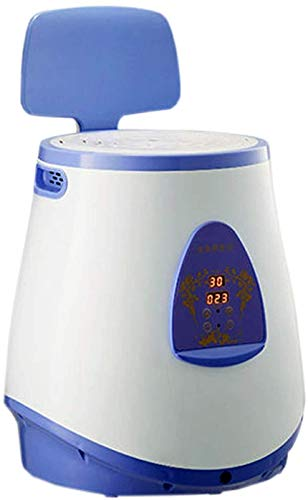 X&J Intelligent Steam Seat, Portable Smokeless Fumigation Instrument, Steam Seat Herbal Evaporator, Sitting Fumigation Instrument for Women's Healthy Hip Ray