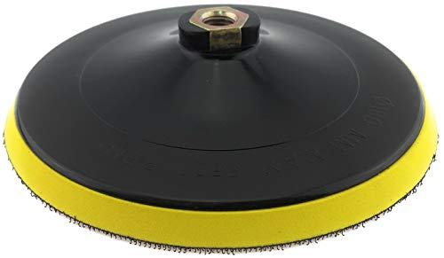 PRODIAMANT Aufnahme Teller 180 mm M14 für Schleifpads mit Klett Verschluss 180mm