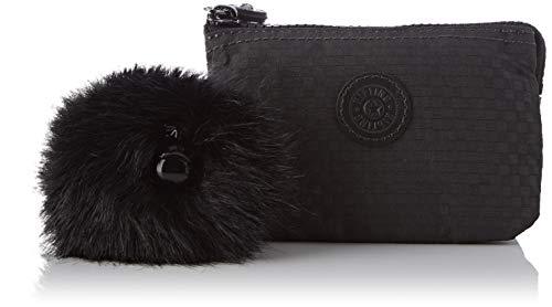 Kipling Creativity S, Porte-monnaie femme, Noir (Powder Black)