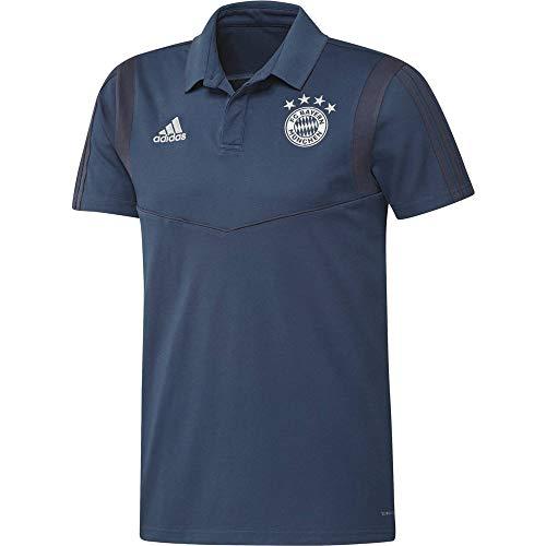 adidas FCB Co Poloshirt für Herren L braun/blau