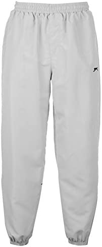 4XL Slazenger Closed Hem Zip Pocket Fleece Pant Tracksuit Bottoms Joggers XS