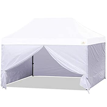 ABCCANOPY Sidewall Kit,Canopy Tent Side Walls 10x15,4 Walls ONLY White