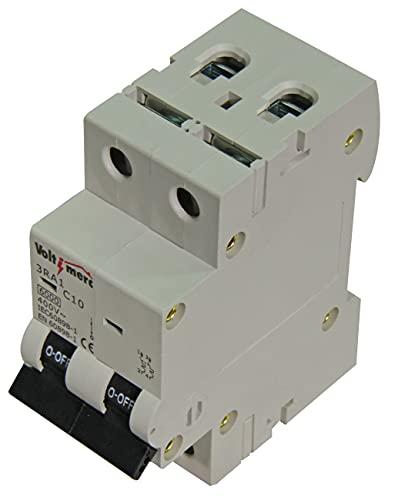 Voltimerc Interruptor Magnetotérmico 2 Polos 32A 6KA