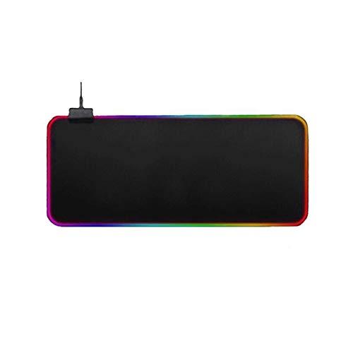 1 unids colorido rgb sinfonía luminosa alfombrilla de ratón para juegos rgb colorido mouse pad grande ratón pad