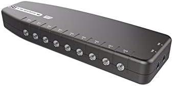 Amplificador de señal, Salida única de TV SLx, Mejora la Calidad de Imagen y la recepción de Canales